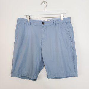 Original PENGUIN Men's Light Blue Cotton Shorts 34
